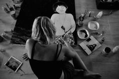 Territorios creativos (nemenfoto) Tags: marisablume territorioscreativos pintura pintora painter pinceles dibujo retrato nemenfoto