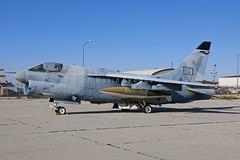 "71-0344 YA-7F ""Strikefighter"" - Stored - Edwards AFB, CA (David Skeggs) Tags: aircraft military aeroplane corsair edwards usaf a7 usairforce strikefighter flighttest ya7f davidskeggs"
