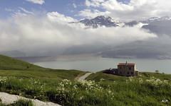 Brume sur le Mont Cenis (AnneLise Pollet) Tags: montagne lac savoie nuage brume maurienne montcenis