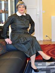 Ingrid022417 (ingrid_bach61) Tags: dress mature kleid pleatedskirt faltenrock