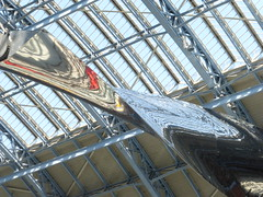 thought of a train of thought #3 (mailatmatt) Tags: ron arad saint pancras station thought train installation london stp ronarad saintpancrasstation thoughtofatrainofthought