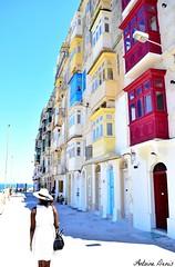 A walk in Malta (tione76) Tags: malte tione76 nikon d5300 malta valletta vallette architecture immeuble building ciel soleil vacances mer colors couleur promenade beaut
