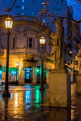 Defensa y Alsina 2 (N!co27) Tags: buenosaires urbanstreet nightlight rain