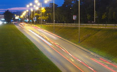 P7290013_v1 (jakubste) Tags: krakow cracow city night traffic