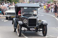 Vintage Ford - Jacaranda Parade 2015 (sbyrnedotcom) Tags: 2015 people events grafton jacaranda parade rural town vintage car ford nsw australia