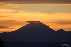 Mt. Lassen Sunrise (Susan Stienstra) Tags: lassenvolcanicnationalpark lassen sunrise sillouette mtlassen northerncalifornia mountain california scenic