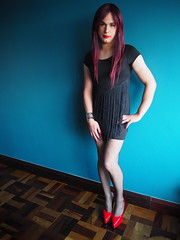 2016.06-97 (SamyOliver) Tags: samycd samyoliver samy samanthaoliver samantha dress genderfluid redhead crossdress crossdresser transformista highheels heels shoes oliver tranny transvestite brazil brazilian