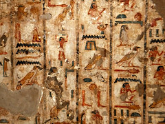 Tombs of the Nobles, Aswan, Egypt 2016 (Grangeburn) Tags: tombsofthenobles aswan egypt ancientegypt rivernile hieroglyphs tombs