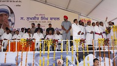Mother Teresa was an inspiration to the world for her selfless services to humanity(1) (sukhbirsingh_badal) Tags: progressingpunjab akalidal punjab sukhbirsinghbada
