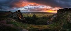 Roaches Sunset (derekgordon1) Tags: nikon sigma1020 theroaches peakdistrct staffordshire pano panorama