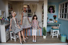 Mini Gamja Room Box (Girl Least Likely To) Tags: momoko closeclippedsheep ccs sekiguchi asianfashiondolls okunkio jiajiadolls etsy rement minigamja miniatures diorama dollhouse dollscene dollroom bedroom livingroom office toys dolls