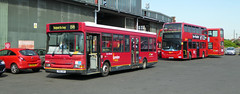 GAL BX BEXLEYHEATH BUS GARAGE - WED 24TH AUG 2026 (Bexleybus) Tags: bexleyheath bus garage bx kent goahead go ahead london adl dennis enviro 400 plaxton president ldp 202 sn51uar lx56euc e55 tfl route b11