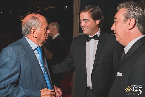 Toño Constantino y José Luis Humanes en Toledo. Restaurante Venta de Aires de Toledo. Antonio Constantino