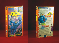 THE TICK VERSUS TYHE IDEA MEN EPISODE ONE, SEASON ONE VHS TAPE (vsndesigns) Tags: beta the tick vs arthur sentinel prime optimus successor townsend coleman lego minifig minifigure dcon 2014 ball mylar balloon buttons bonanza pencil indie shocker gbjr toys with tie and tshirt zombie in a steel box fox promotional totally kids magazine 45 club spoon taco bell meal commercial eli stone ben edlund little wooden boy comic book merchandise rare limited edition 80s 90s collector museum naked super hero heroine collection photo screen