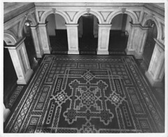 Photograph of Rotunda at Osgoode Hall (Law Society of Upper Canada Archives) Tags: osgoodehall mosaic floors tiles architecture toronto