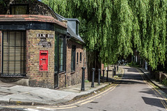 Elm Road Post Box, Hampstead