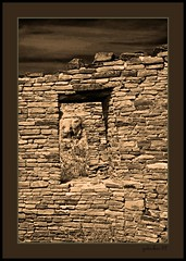 Chaco Canyon 07-4 (the Gallopping Geezer 3.8 million + views....) Tags: house southwest building abandoned home stone rural canon town ancient village decay indian ghost pueblo culture roadtrip canyon structure historic nativeamerican faded worn weathered remote wilderness chacocanyon derelict decayed geezer 2007 corel dwelling smaltown west07927
