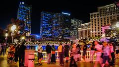 Bellagio hotel-casino, waiting for the fountain show1