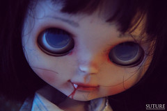Eli (JordanaSoto) Tags: doll vampire ooak blythe customblythe customdoll
