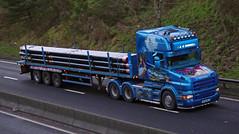 J & G Riddell of Glenkindie Scania R620 T Cab SV08HBJ (andyflyer) Tags: truck lorry trucking scania a90 hgv glenkindie roadtransport r620 tcab sv08hbj jgriddel a90dundee a90trucks