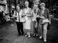 ::.: (kalekumeak) Tags: ionmarkel euskalherria basquecountry gipuzkoa donostia jende people kale street zuribeltz bw blackwhite iphoneography kalekumeak streetphotography apple iphonekeriak iphone6plus