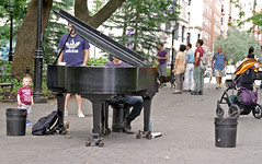 Piano in the Park (tony.evans) Tags: park city nyc newyorkcity sea usa ny newyork castle church ferry museum brooklyn america port river volkswagen subway us marine time harbour fort manhattan library taxi aviation unitedstatesofamerica worldtradecenter union rockefellercenter nypd un maritime unitednations concorde intrepid guggenheim empirestatebuilding statueofliberty wallstreet statenisland rockefeller grandcentral georgewashington unionsquare flatironbuilding governorsisland highline novotel ussintrepid highmile newjerseyhighmile