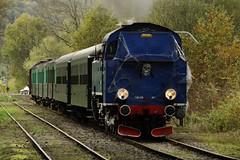 CFV3V Steamlocomotive N Tkt 48 87 with the Halloween-train. (Franky De Witte - Ferroequinologist) Tags: de eisenbahn railway estrada chemin fer spoorwegen ferrocarril ferro ferrovia