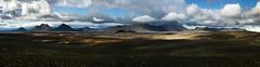 Iceland highland hw nr 1 9 6p (Bilderschreiber) Tags: panorama black landscape island volcano iceland poor highland landschaft schwarz vulkan karg hochland nordurtingeyjarsysla