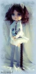 Serena : Lila doll modle lavender garden *sold* (Meludoll) Tags: garden doll lavender lila soon modle creadoll