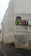 Cost invader (THEfunkyman) Tags: streetart paris art space cost invader rue faved pa1104