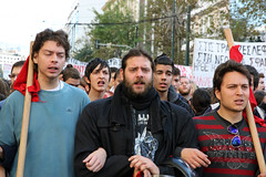 Protesters in Athens, Greece (paul.katzenberger) Tags: protest athens demonstration greece grigoropoulos eurocrisis