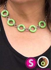 Glimpse of Malibu Green Necklace K1A P2810A-4..