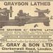 Grayson Lathes