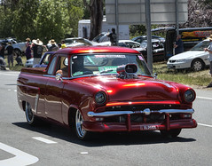 Beautiful classic (Anna Calvert Photography) Tags: classic cars vintage driving australia parade vehicles canberra shannons 2015 summernats oldskol shannonssupercruise