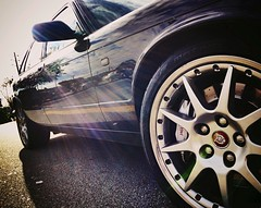 veetwelve (Ashley Foreman) Tags: car vancouver speed slick bc power jag jaguar rim powerful luxury queensborough v12