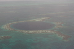 Scenic Flight over the Blue Hole, Caye Caulker, Belize (ARNAUD_Z_VOYAGE) Tags: street city blue sunset sea people sun white black color building cars beach church colors clouds america plane french landscape island coast boat town village view place hole action belize capital central flight scenic tourist tourists story coastal limestone caye caribbean population popular region metropolitan province sites caulker centrale municipality aera carabes