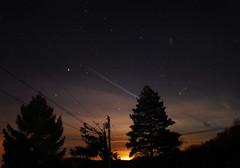 Stars (AppalachianAfro) Tags: light sky west silhouette night stars landscape virginia pollution nnp