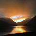 Sunrise in Llanberis pass.
