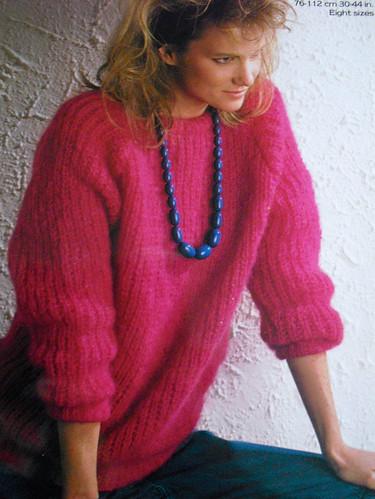 Milf in a sweater