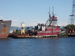 Tug Boat (jmaxtours) Tags: usa tampa tampabay florida tugboat tug tampabayflorida morantowing morantowingcompany heidemoran porttampabay morantowingcompanyofnewyorkny