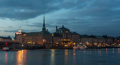 Blue Hour, Stockholm (Flights. Camera. Satisfaction.) Tags: lon