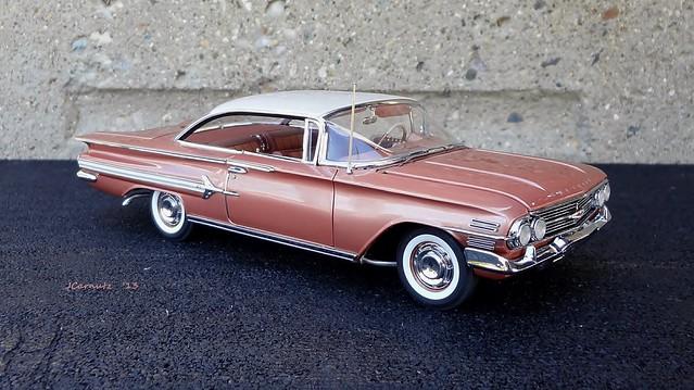 chevrolet impala 1960 diecast 124scale danburymint