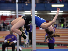 Indoor Track and Field - Bishop Loughlin Games (Steven Pisano) Tags: newyork jump jumping track running run highschool armory trackandfield longjump newbalance highjump bishoploughlin