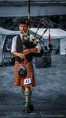 Piper (FotoFling Scotland) Tags: scotland kilt argyll event piper highlandgames bagpipe inveraray meninkilts solopiper solopiping inverarayhighlandgames