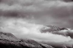Spätherbst (Ernst_P.) Tags: bw cloud monochrome clouds landscape tirol österreich himmel wolke wolken paisaje nubes sw landschaft aut inzing solstein