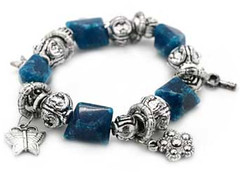 Glimpse of Malibu Blue Bracelet P9510-1 (2)
