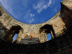 Clifford's Tower, York (hope2029) Tags: york blue sky tower roman cliffords