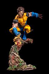 Wolverine con cabeza (dsc828) Tags: wolverine figura lobezno strobist pintadoamano