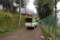 Carrier (Anubhav Kochhar) Tags: life road street travel india car canon photography shimla wideshot wide wideangle hills greenery ultrawide efs 1022mm himachalpradesh airing uwa 10mm byway publiccarrier mashobra canoneos60d soloindiantraveller
