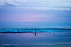 Cronulla Sunrise 10 January 2015 (10 of 10) (Anthony Clark) Tags: morning pink light red orange seascape color colour beach water clouds sunrise colorful purple sydney australia colourful shire aussie cloudporn cronulla cronullabeach